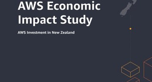 AWS Economic Impact Study: AWS Investment in New Zealand