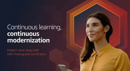 Continuous Learning, Continuous Modernization