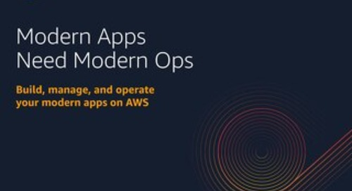 Modern Apps Need Modern Ops