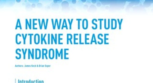 A New Way to Study Cytokine Release Syndrome