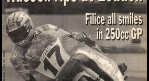 Cycle News 1992 07 01