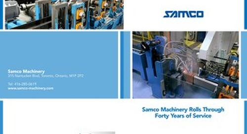 SAMCO Machinery Business North America Profile June 2013