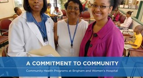 Community Health Brochure