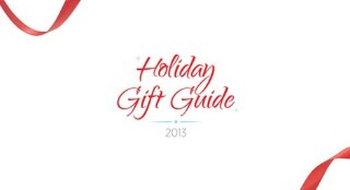2013 PCNA HOLIDAY GIFT GUIDE