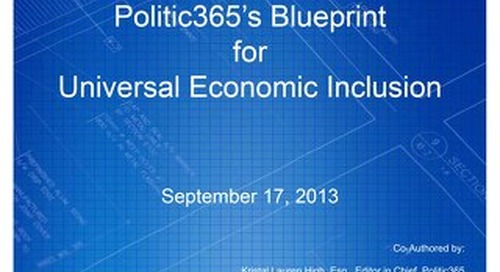 Blue Print 365 Policy Report