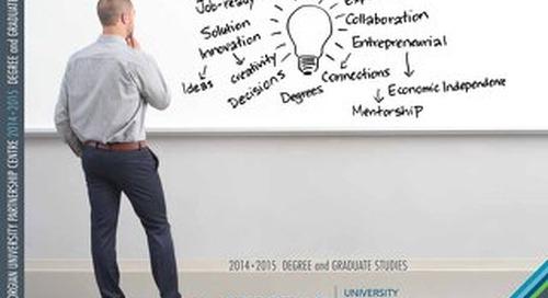 UPC Degree and Gradute Studies Program Guide