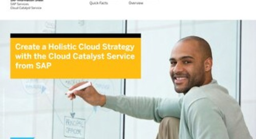 Cloud Catalyst Services Info-sheet