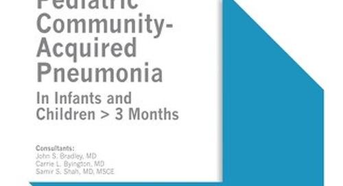 Pediatric Community-Acquired Pneumonia (IDSA Bundle)