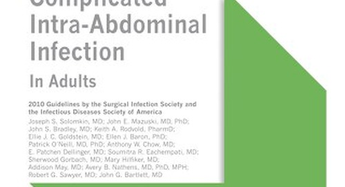 Complicated Intra-Abdominal Infection (IDSA Bundle)