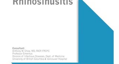 Rhinosinusitis (IDSA Bundle)