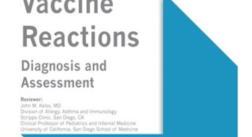 Vaccine Reactions (ACAAI/AAAAI Bundle)