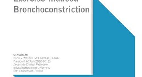Exercise-Induced Bronchoconstriction (ACAAI/AAAAI Bundle)