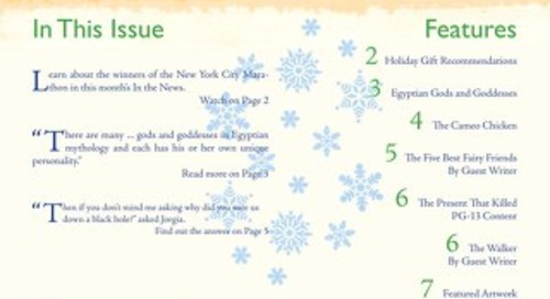Student Newsletter December