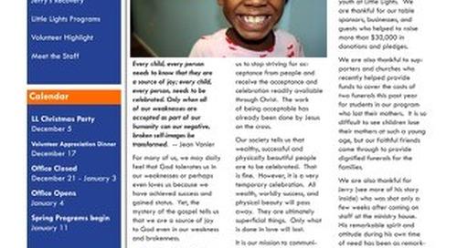 2009 Fall Newsletter