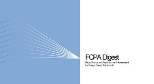 FCPA Digest 2014