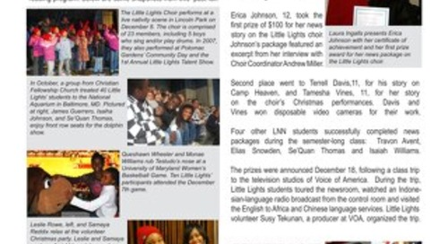 2008 Winter Newsletter