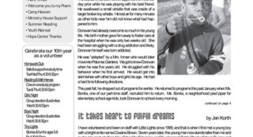 2006 Summer Newsletter