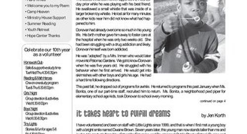 2006 Summer Newsletter