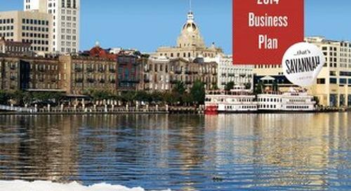 2014 Visit Savannah Business Plan