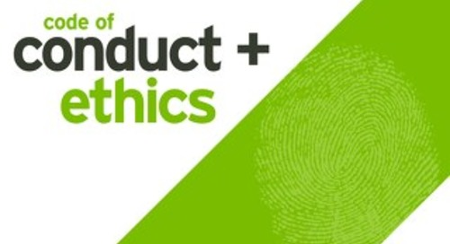 Code of conduct and ethics