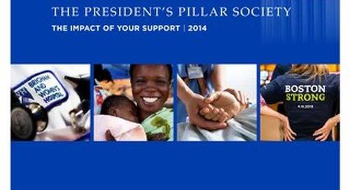 1401AGPSSTXX - President's Pillar Society Annual Report (2014)