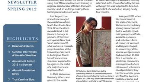 Impact Newsletter Spring 2012