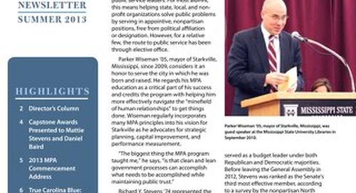 Impact Newsletter Summer 2013
