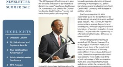 Impact Newsletter Summer 2012