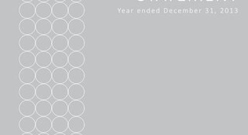 2013 - Elite Alliance Disclosure Statement Year Ending December 31 2013