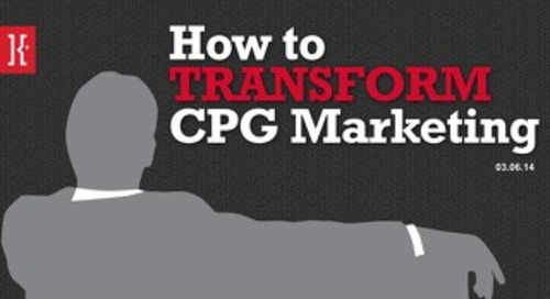Transforming CPG Marketing