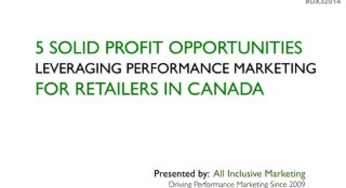 Profit Opportunities For Real Time Marketing