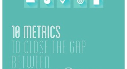 10 Metrics to Close the Gap Between Marketing & Sales
