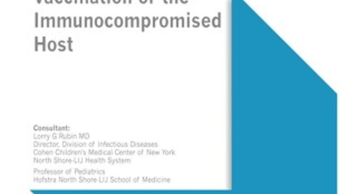 Vaccination of the Immunocompromised Host