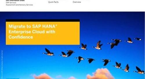 HANA Enterprise Cloud Services