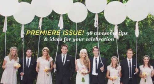 2life Weddings Premiere Issue — Canadian Edition