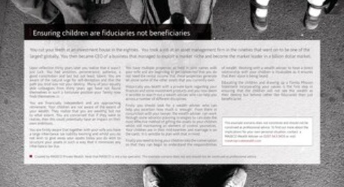 Case Studies UK: Ensuing children are fiduciaries not beneficiaries