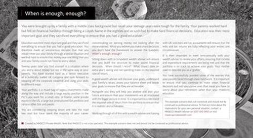 Case Studies UK: When enough is enough