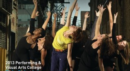 2013 Guide to Performing & Visual Arts Colleges
