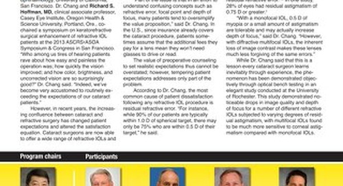 EW SEP 2013 - Supported by Alcon and Abbott Medical Optics