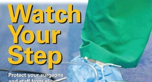 Watch Your Step - May 2014 - Subscribe to Outpatient Surgery Magazine
