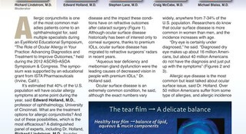 EW JUL 2012 - Supported by ISTA Pharmaceuticals