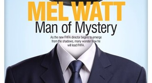 Mel Watt: Man of Mystery