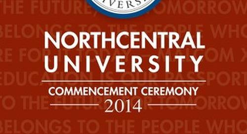 Northcentral University Graduation Program 2014