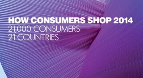 How Consumers Shop 2014
