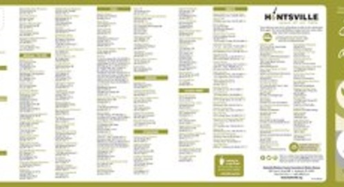 Huntsville/Madison County Dining Guide