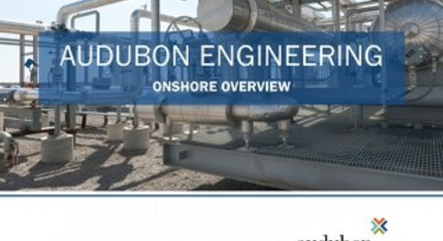Audubon Engineering Onshore Overview