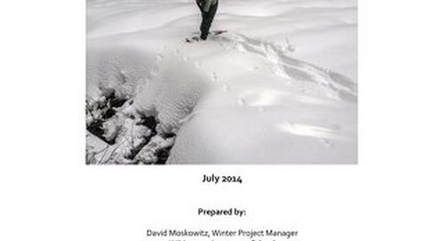 CWMP Winter 2013-2014 Monitoring Report Final