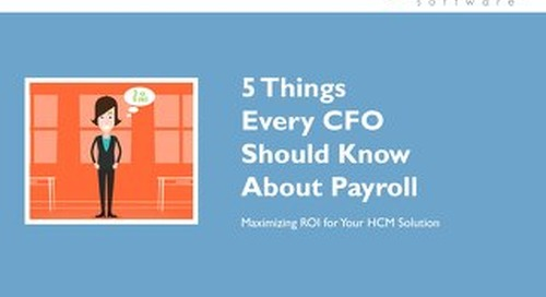 5 Things Every CFO Needs to Know About Payroll