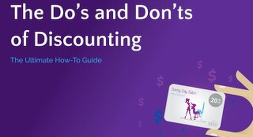 Dos and Don'ts of Salon Discounting Guide