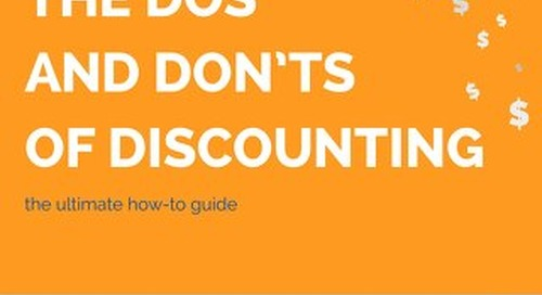 Dos and Don'ts of Spa Discounting Guide